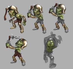 Zombie Knight01process